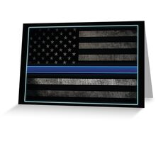 Honor the Blue Greeting Card