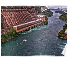 The Niagara River Poster