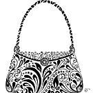 Handbag Doodle by Jacqueline Eden
