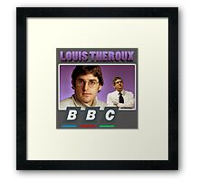 Louis Theroux BBC Framed Print