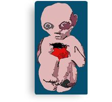 Sad Baby Canvas Print