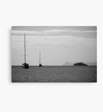 Yasawa Sailing 1  Canvas Print