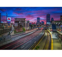 Kenmore Square in Boston, Massachusetts. Photographic Print