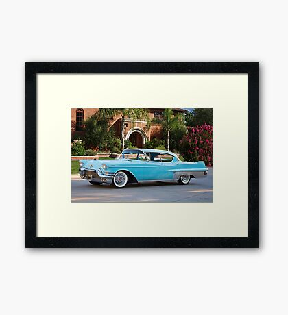 1957 Cadillac Fleetwood 60 S Sedan Framed Print