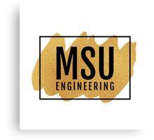 MSU Engineering Canvas Print