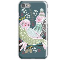 Holiday Birds Love II iPhone Case/Skin