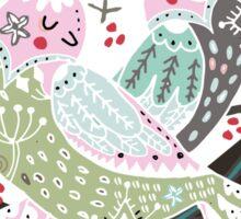 Holiday Birds Love II Sticker