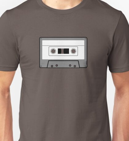 Cassette Tape - Vintage Retro Audio Unisex T-Shirt