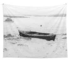 old boat Wall Tapestry