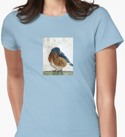 At The Garden Gate Womens Fitted T-Shirt