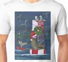 Christmas Seal and Friends Unisex T-Shirt