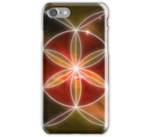 Sacred Geometry: Seed of Life - Cosmic Genesis III iPhone Case/Skin