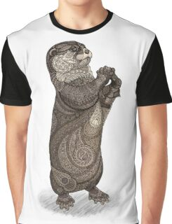 Infatuated Otter Graphic T-Shirt