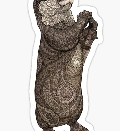 Infatuated Otter Sticker