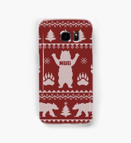 Bear Hug Sweater Samsung Galaxy Case/Skin