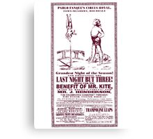 Being For The Benefit Of Mr Kite Canvas Print