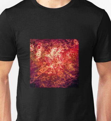 Boundless Journey, Retro Abstract Art Bubbles Swirls Unisex T-Shirt