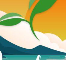 Sustaining Paradise Sticker