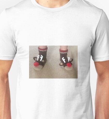 Santa's Socks Unisex T-Shirt