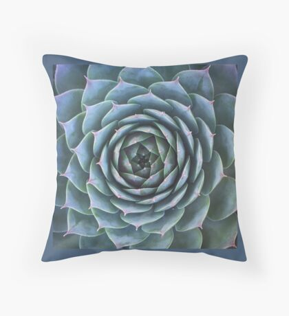 Earth Semp Pattern Throw Pillow