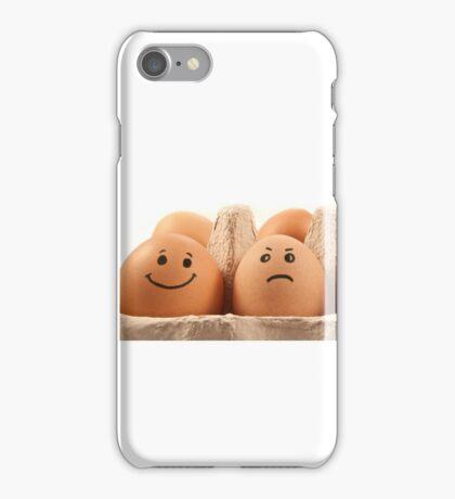 Egg emotions. iPhone Case/Skin