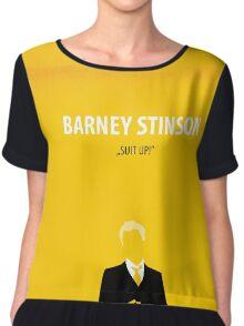 Barney Stinson Chiffon Top