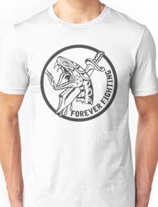 Forever Fighting, Snake & Dagger Tattoo  Unisex T-Shirt