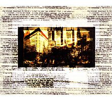 lost cause factory Photographic Print
