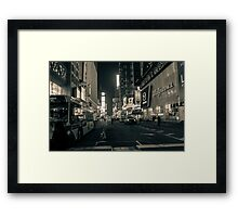 Just Two Steps Away Framed Print