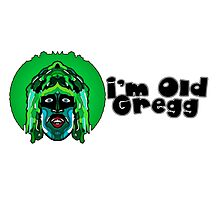 Old Gregg - Mighty Boosh Photographic Print