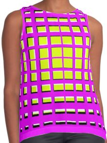 Pink Polynomial Contrast Tank