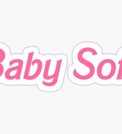 Baby Soft Sticker