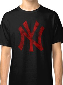 °BASEBALL° NY Yankees Rust Logo Classic T-Shirt