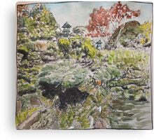 Japanese Tea Garden, San Francisco Canvas Print