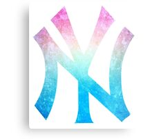 °BASEBALL° NY Yankees Rainbow Logo Metal Print
