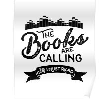 The Books Are Calling Poster