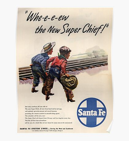 Vintage poster - Super Chief Poster