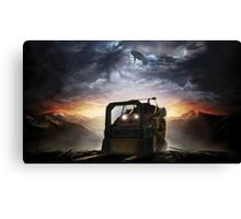 Don't bring a forklift to a plasma rifle fight Canvas Print