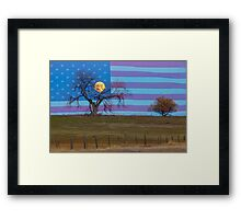 American November Supermoon Framed Print