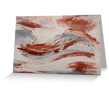 Rust, Slate and Earth Greeting Card