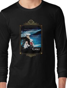Contact Movie Poster With Katya and Trixie Long Sleeve T-Shirt