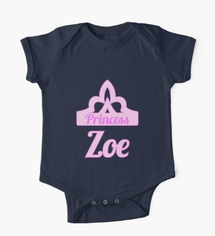 Baby girl AKA Princess Zoe One Piece - Short Sleeve