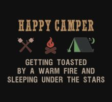 Happy Camper One Piece - Short Sleeve