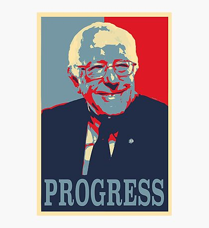 Bernie Progress Photographic Print