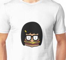 Tina - Burger Unisex T-Shirt