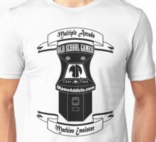 Mame Addicts (Official) Old School Gamer Unisex T-Shirt