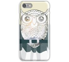 Owl is Calm iPhone Case/Skin