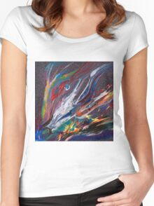 Colour & Spirit Women's Fitted Scoop T-Shirt