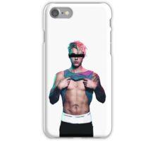 faceless justin bieber iPhone Case/Skin