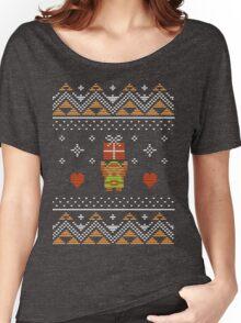 Zelda Christmas Sweater Women's Relaxed Fit T-Shirt